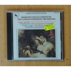 MORTON GOULD - RAVEL / WEINBERGER / TURINA / GINASTERA - CD