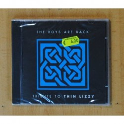 THE BOYS ARE BACK - TRIBUTE TO THIN LIZZY - CD