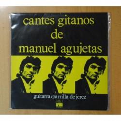 MANUEL AGUJETAS - CANTES DE MANUEL AGUJETAS - LP