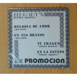 MELODY´S EDITORA MUSICAL - MELODIA DE AMOR + 3 - EP