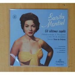 SARITA MONTIEL - EL ULTIMO CUPLE B.S.O. - CLAVELITOS + 3 - EP