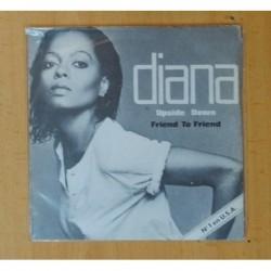 DIANA ROSS - UPSIDE DOWN / FRIEND TO FRIEND - SINGLE