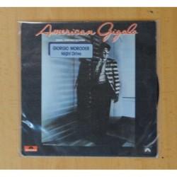 GIORGIO MORODER - AMERICAN GIGOLO B.S.O. - NIGHT DRIVE / THE APARTMENT - SINGLE