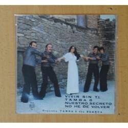ORQUESTA TAMBA 8 CON BLANCA - VIVIR SIN TI + 3 - EP