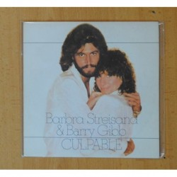 BARBRA STREISAND - GUILTY / LIFE STORY - SINGLE