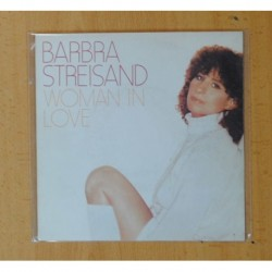 BARBRA STREISAND - WOMAN IN LOVE / RUN WILD - SINGLE