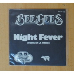 BEE GEES - NIGHT FEVER / DOWN THE ROAD - SINGLE