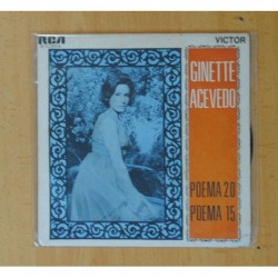 GINETTE ACEVEDO - POEMA 20 / POEMA 15 - SINGLE