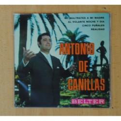 ANTONIO DE CANILLAS - NO MALTRATES A MI MADRE + 3 - EP