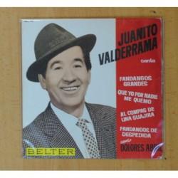 JUANITO VALDERRAMA - FANDANGOS GRANDES + 3 - EP