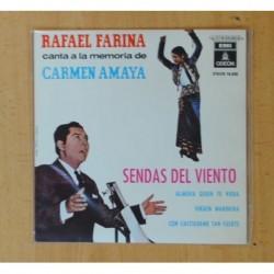 RAFAEL FARINA - SENDAS DEL VIENTO + 3 - EP