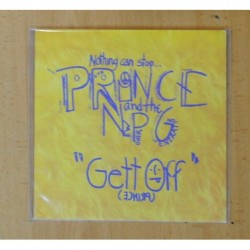 PRINCE & THE NPG - GETT OFF / HORNY PONY - SINGLE