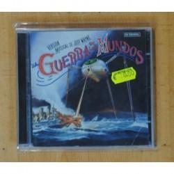 JEFF WAYNE - LA GUERRA DE LOS MUNDOS EN ESPAÑOL - CD