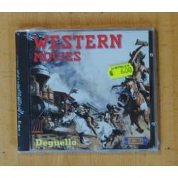 VARIOS - WESTERN MOVIES - CD