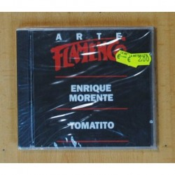 ENRIQUE MORENTE / TOMATITO - ARTE FLAMENCO - CD