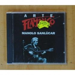 MANOLO SANLUCAR - ARTE FLAMENCO - CD