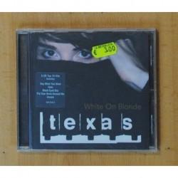 TEXAS - WHITE ON BLONDE - CD