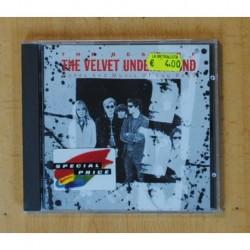 THE VELVET UNDERGROUND - THE BEST OF - CD