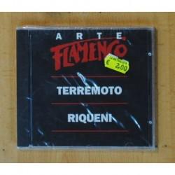 TERREMOTO / RIQUENI - ARTE FLAMENCO - CD