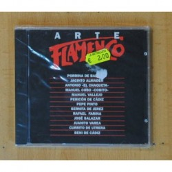 VARIOS - ARTE FLAMENCO - CD