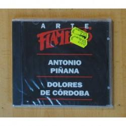 ANTONIO PIÑANA / DOLORES DE CORDOBA - ARTE FLAMENCO - CD