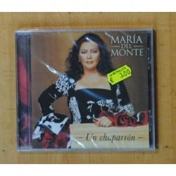 MARIA DEL MONTE - UN CHAPARRON - CD