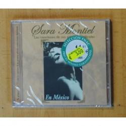 SARA MONTIEL - LAS CANCIONES DE SUS MEJORES PELICULAS - CD