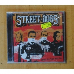 STREET DOGS - BACK TO THE WORLD - CD