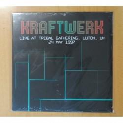 KRAFTWERK - LIVE AT TRIBAL GATHERING LUTON UK 24 MAY 1997 - LP