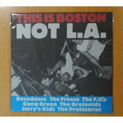VARIOS - THIS IS BOSTON NOT L.A. - LP