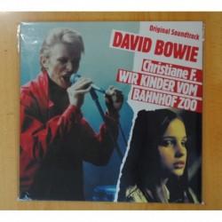 DAVID BOWIE - CHRISTIANE F. WIR KINDER VOM BAHNHOF ZOO - LP