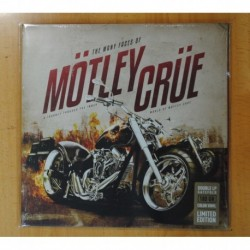 VARIOS - THE MANY FACES OF MOTLEY CRUE - 2 LP