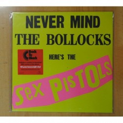 SEX PISTOLS - NEVER MIND THE BOLLOCKS HERE S THE SEX PISTOLS - LP