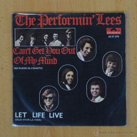 THE PERFORMIN LEES - LET LIFE LIVE - SINGLE