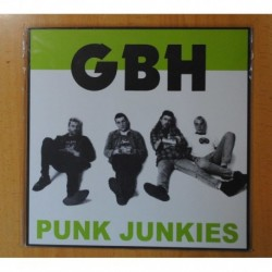 GBH - PUNK JUNKIES - LP