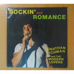 JONATHAN RICHMAN AND THE MODERN LOVERS - ROCKIN AND ROMANCE - LP