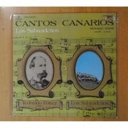LOS SABANDEÑOS / TEOBALDO POWER - CANTOS CANARIOS - LP