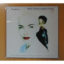EURYTHMICS - WE TOO ARE ONE - LP