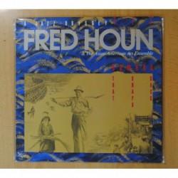 FRED HOUN & THE ASIAN AMERICAN ART ENSEMBLE - BAMBOO THAT SNAPS BACK - LP