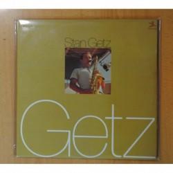 STAN GETZ - GETZ - GATEFOLD - 2 LP