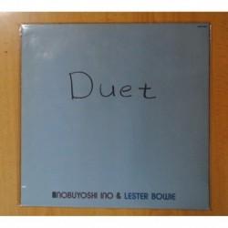 NOBUYOSHI INO & LESTER BOWIE - DUET - LP