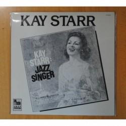 KAY STARR - JAZZ SINGER - LP