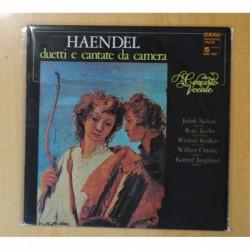 HAENDEL - DUETTI E CANTATE DA CAMERA / CONCERTO VOCALE - GATEFOLD - LP