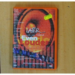 LATER... WITH JOOLS HOLLAND EVEN LOUDER - DVD