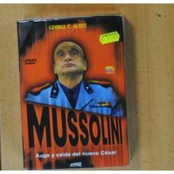 MUSSOLINI AUGE Y CAIDA DEL NUEVO CESAR - 3 DVD