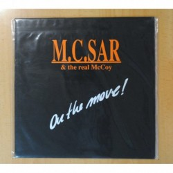M.C. SAR & THE REAL MCCOY - ON THE MOVE! - LP