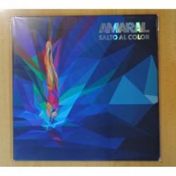 AMARAL - SALTO AL COLOR - VINILO AZUL - GATEFOLD - LP