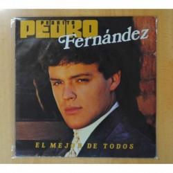 PEDRO FERNANDEZ - EL MEJOR DE TODOS - LP