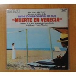 LUCHINO VISCONTI - MUERTE EN VENEIA - BSO - LP
