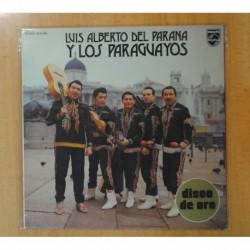 LUIS ALBERTO DEL PARANA Y LOS PARAGUAYOS - LUIS ALBERTO DEL PARANA Y LOS PARAGUAYOS - LP